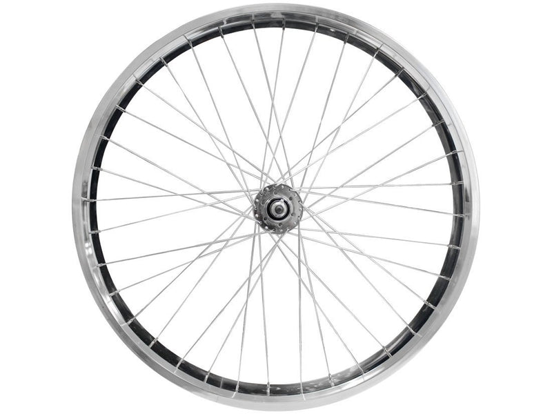 wide rims silver - axle