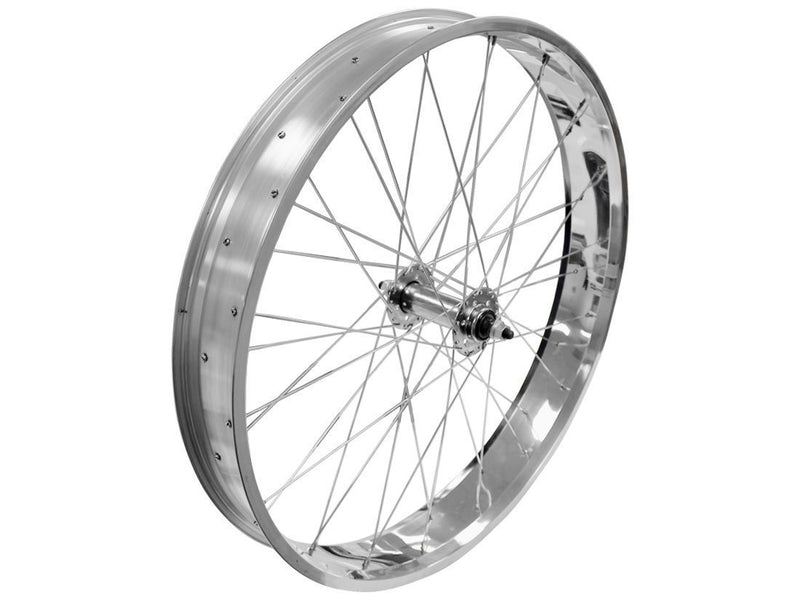 wide rims silver - front wheel angle
