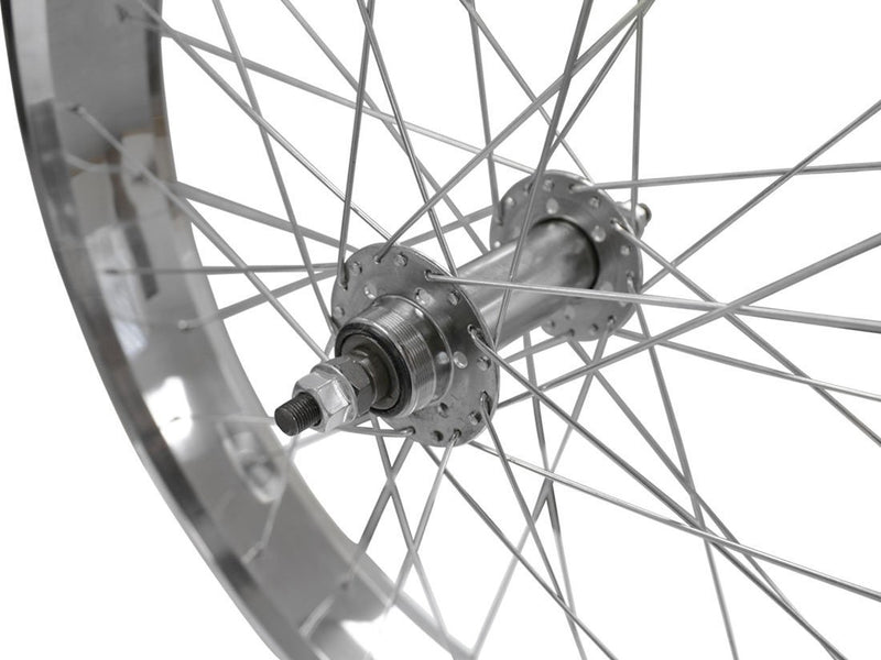 wide rims silver - freewheel threads