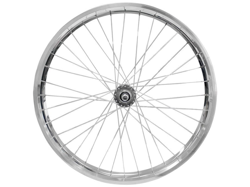 wide rims silver - axle side