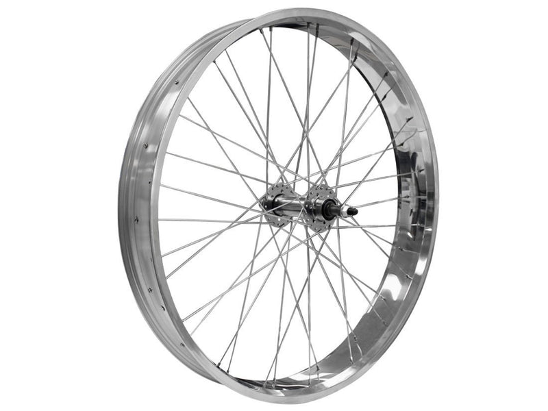 wide rims silver - front wheel