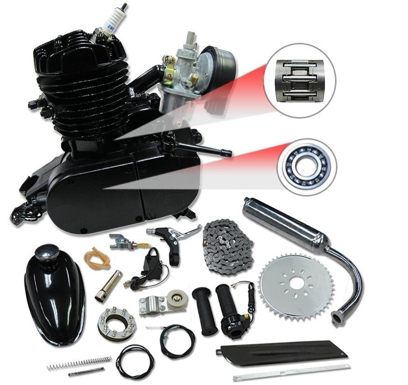 66/80cc Mega Motors Bicycle Engine Kit- 2 Stroke