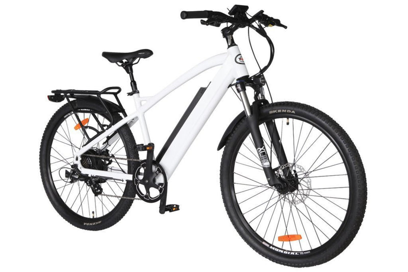 T4B 350W Hiko Enduro Hard Tail City front of bicycle