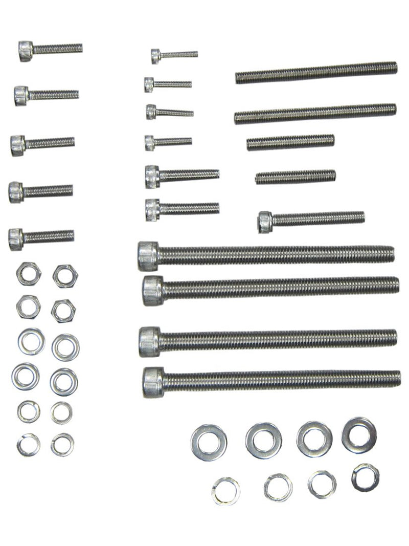 BBR TUNING COMPLETE PIECE HEAVY DUTY ENGINE KIT STUF SET 6MM - side profile