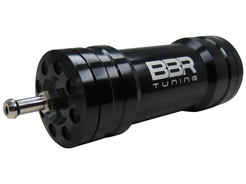 BBR Tuning Single Boost Bottle Induction Kit - black connection