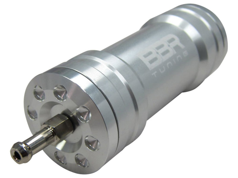 BBR Tuning Single Boost Bottle Induction Kit - silver connection