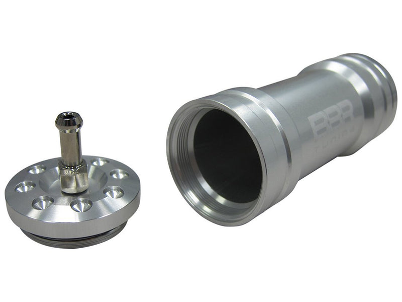 BBR Tuning Single Boost Bottle Induction Kit - silver side