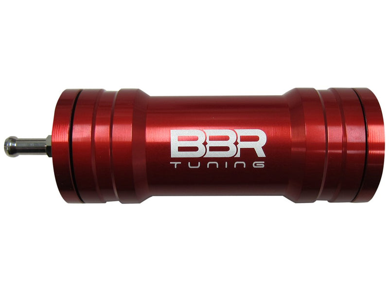 BBR Tuning Single Boost Bottle Induction Kit - red close up