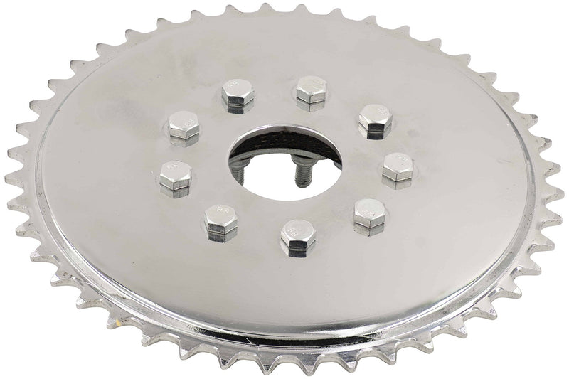 SPROCKET CLAMP ASSEMBLY - Top in use w/ 44 tooth sprocket