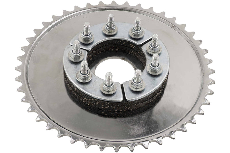 SPROCKET CLAMP ASSEMBLY - Bottom in use w/ 44 tooth sprocket