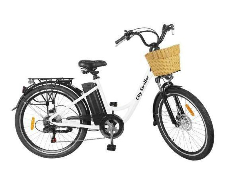 Nakto 350W City Electric Bicycle Aluminium Alloy Frame 26'' Strollor - side
