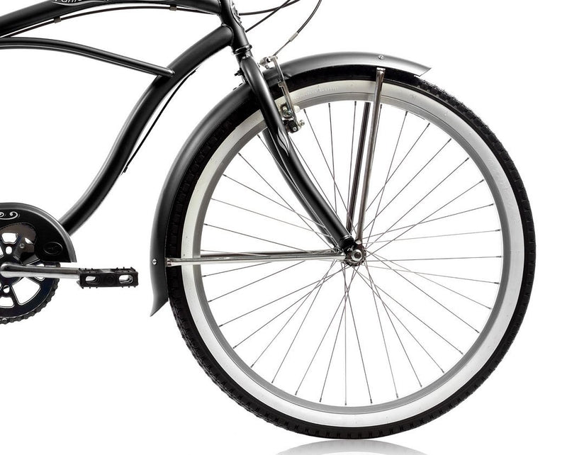 26'' Micargi Mens Pantera 7SP - black - front wheel