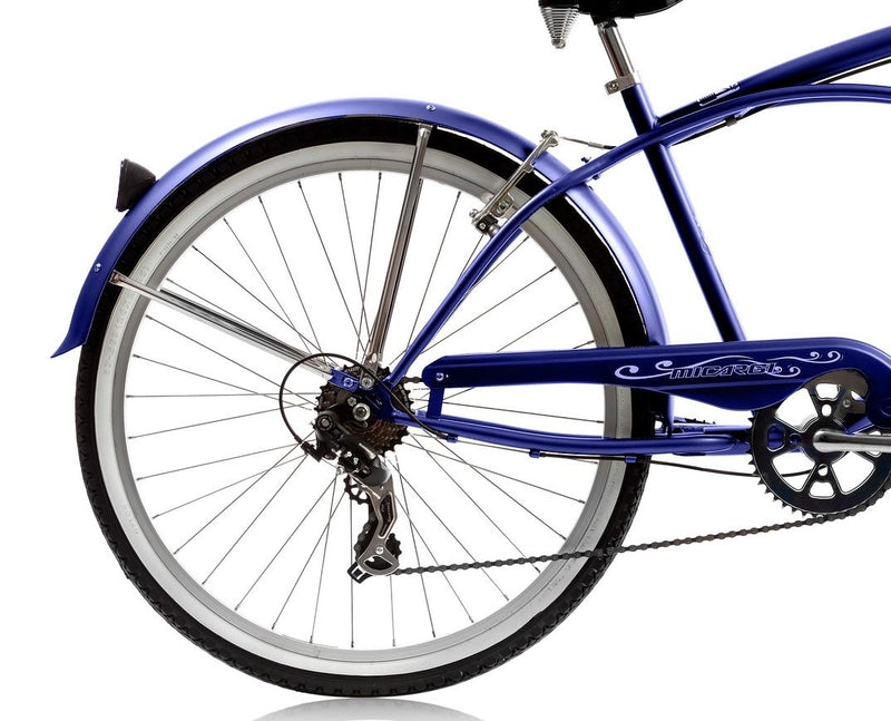 26'' Micargi Mens Pantera 7SP - blue - rear wheel