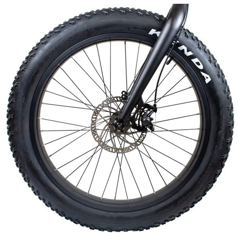 Rambo 750W Savage Black - front wheel