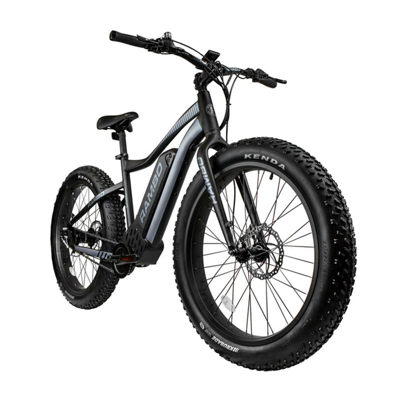 Rambo 750W Pursuit Black/Grey - front