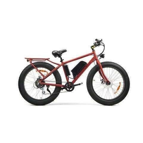 SSR Motorsports 350W & 500W Sand Viper Fat Tire Mountain red bicycle side