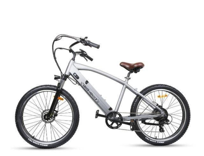 Nakto 500W Electrical Bicycle 26'' Santa Monica - side