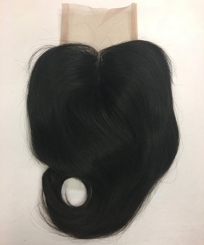 Temple Collection Raw Indian Wavy Closure