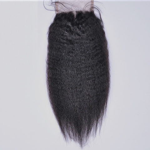 Hair - Lace Closure - Kinky Straight
