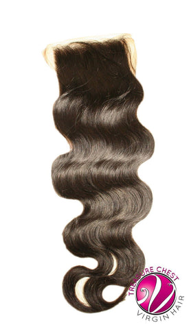 Hair - Silk Base Closure - Natural Wave