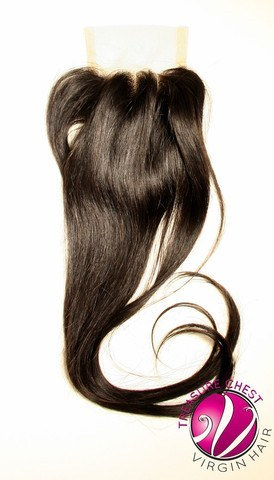Hair - Silk Base Closure - Straight
