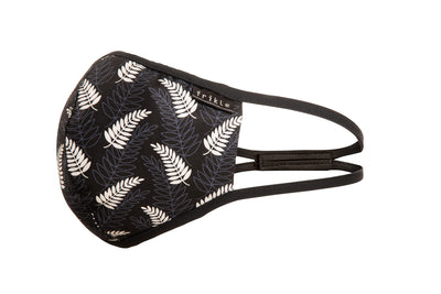silver fern cotton face mask by frikle