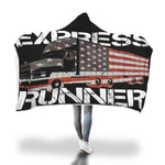 Express Runner Hooded Blanket
