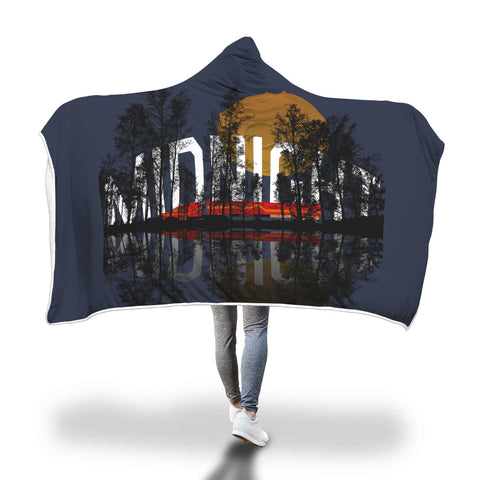 Midnight Driving Hooded Blanket