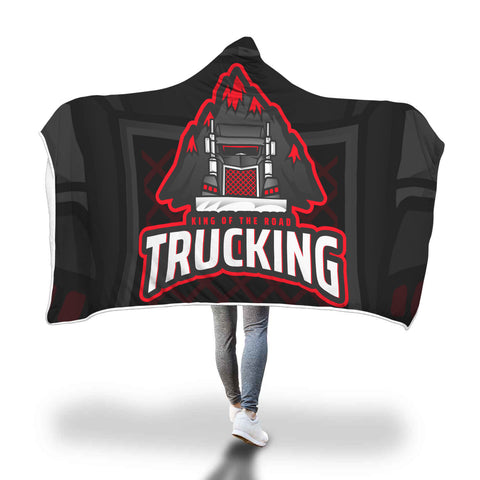 King of the Road Hooded Blanket