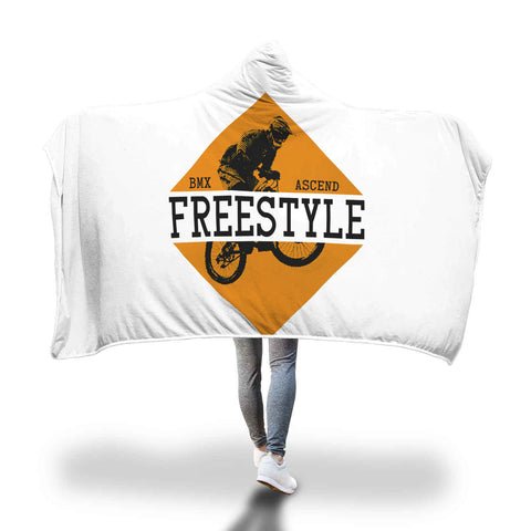 BMX Freestyle Hooded Blanket