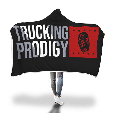 Trucking Prodigy Hooded Blanket