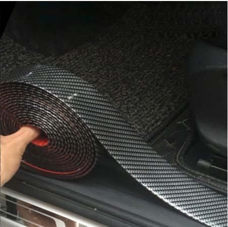 Car Stickers 5D Carbon Fiber Rubber