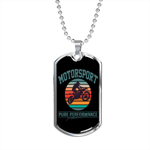 Motorsport Pure Performance Personalized Gift Jewelry Necklace