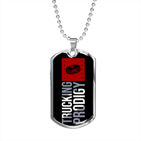 Trucking Prodigy Personalized Gift Necklace Jewelry