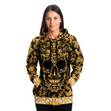 Holiday Skull Trucker Fashion AOP Hoodie