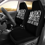 Truck Surfing Car Seat Covers
