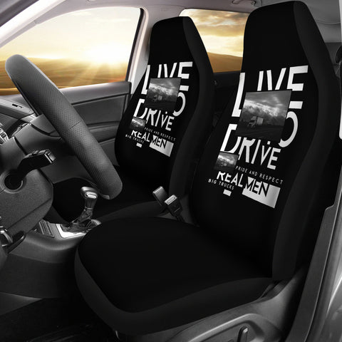 Live To Drive Seat Covers