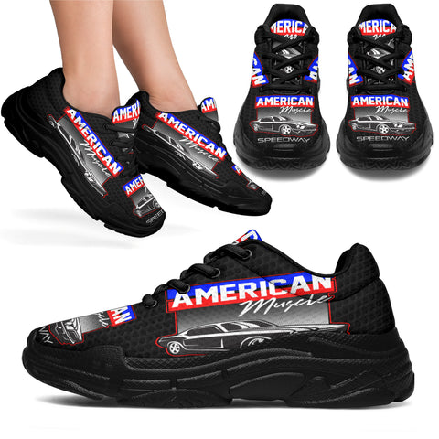 American Muscle Speedway Sneaker Shoes