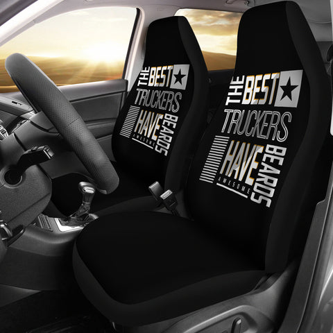 Best Truckers Have Beards Car Seat Covers