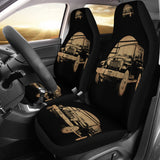 Retro Jeep Car Seat Covers