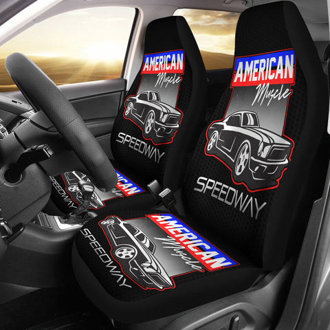 American Muscle Speedway Car Seat Covers
