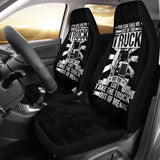 Out of the Truck Car Seat Covers