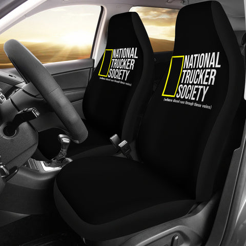 National Trucker Society Car Seat Covers