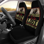 It Feels Good Trucker Funny Quote Car Seat Covers