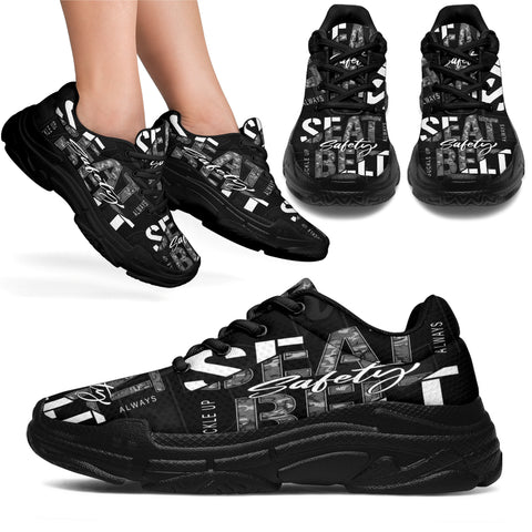Seat Belt Safety Sneaker Shoes