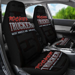 Rocker Trucker Car Seat Covers