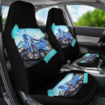 Old Truck Image Car Seat Covers
