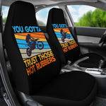 Bikers Trust Hot Rubbers Seat Covers
