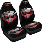 Red Car Interior Car Seat Covers