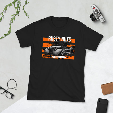 Rusty Retro Car T-Shirt